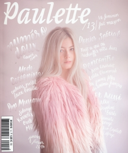 Cover Paulette Magazine  janv 2014