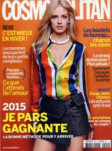 Cover Cosmo Février 2015
